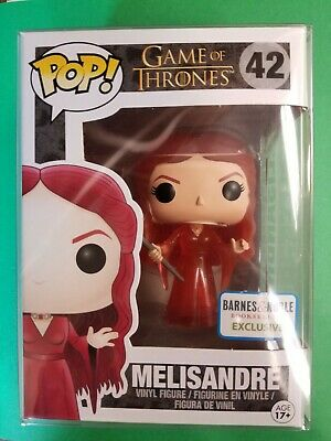 Melisandre Pop Exclusive Barnes & Noble Game of Thrones FREE PROTECTOR