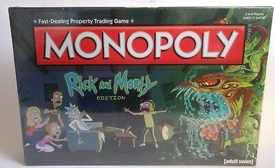 Rick & Morty Monopoly * Brand New Sealed with free postage