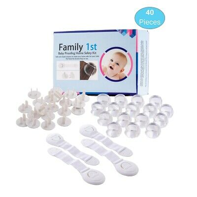 40 PC Baby & Child Proofing Home Safety Kit by Family 1st