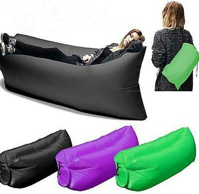 Portable Inflatable Air Bed Sofa Outdoor Beach Camping Sleeping Lazy Bag