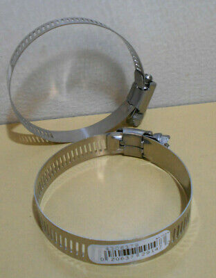 """Lot of 30 Tridon Stainless Steel Clamps 3/4"""" - 2.75"""" (19mm - 70mm)"""