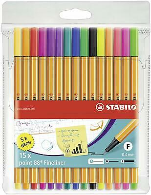 Point Visco Rollerball GRATIS NEU! Stabilo Point 88 Fineliner 10er Set