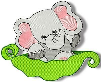 SWEET PEA ANIMALS 15 MACHINE EMBROIDERY DESIGNS CD or USB