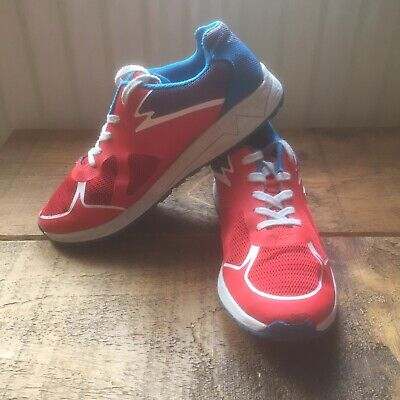 Clarks Ladies:girls Trainers/Pumps..size 4.5..Red/Blue Retro