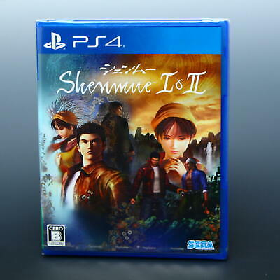 Shenmue I and II PS4 Game Japan Playstation NEW