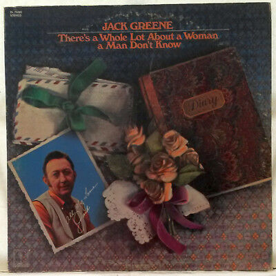 Jack Greene ~ There's A Whole Lot About A Woman A Man Don't Know ~ RARE Decca LP