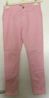 Girls Pretty Pink Skinny Cherokee Denim Jeans Age 10-11 Years (Postage Deal)