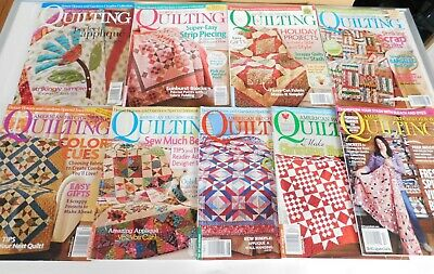Lot of American Patchwork & Quilting Magazines Better Homes & Gardens