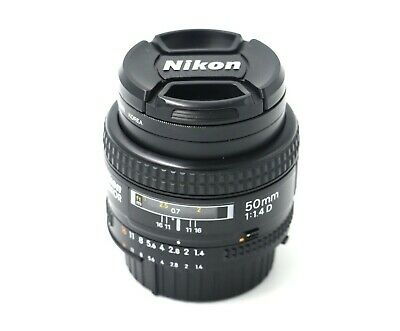 Objetivo Nikon AF Nikkor 50mm 1.4 excellent condition!