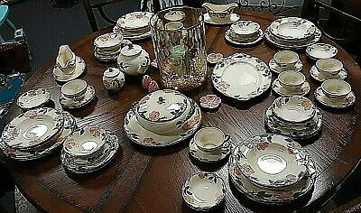 Vintage Franciscan Desert Rose 71 Pc. China Set, individual pcs California USA