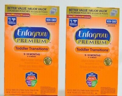 Enfagrow Premium Toddler Transitions 9-18 months exspies Jan/2020