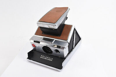 "Vintage Polaroid SX-70 Instant Film Land Camera Film Tested ""user"" V86"