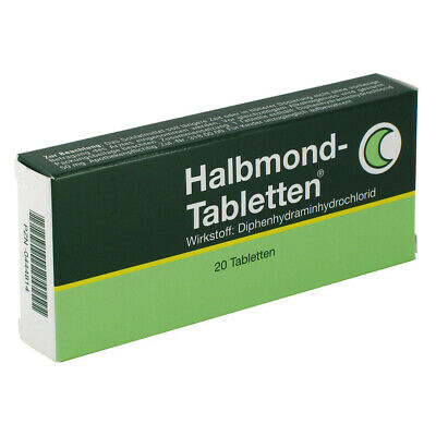 Halbmond-Tabletten 50mg 20stk PZN 00444814