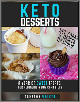 KETO DESSERTS – A year of sweet treats for ketogenic & Eb00k/PDF - FAST Delivery