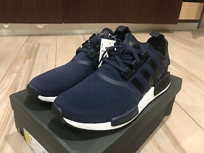 3d535bf96 Adidas NMD R1 JD Sports BB1356 Navy White Black Size 12.5 triple ultra boost