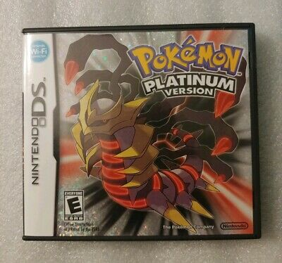 Video Games & Consoles Pokemon Platinum Version Ds Case And Manual Only *no Game* Nintendo