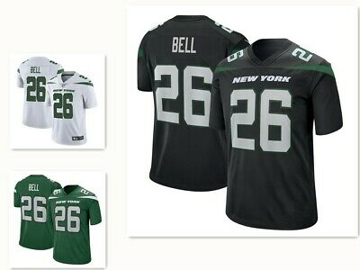 wholesale dealer ec852 3d19b NWT NEW YORK Jets Le'Veon Bell ColorRush Custom Stitched ...