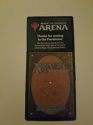 MTG Magic Arena War of the Spark Prerelease Competitive Draft Code EMAIL ONLY