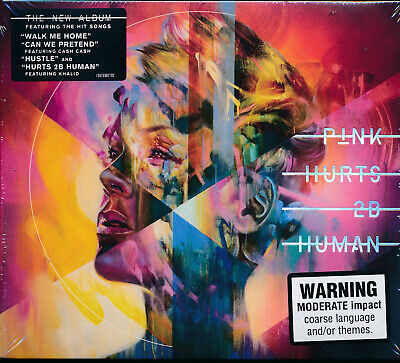 Pink Hurts 2B Human CD NEW Walk Me Home Can We Pretend Hustle