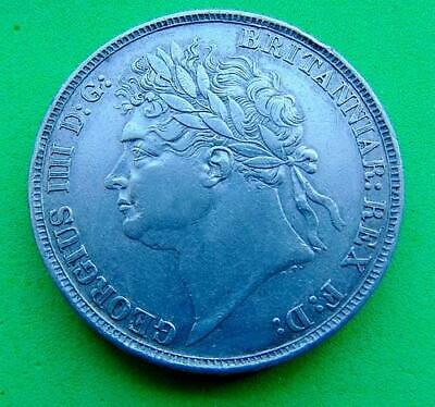 A  Quality  George  Iv  1822  Ef  Silver  Crown  5/-....Lucido_8  Coins