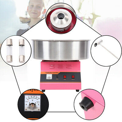 Electric Cotton Candy Machine Sugar Fairy Floss Maker Party Home DIY 1300W,Ø52cm