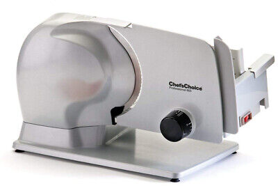 Chef's Choice 665 Professional Electric Food Slicer, 8.5-Inch, Grey