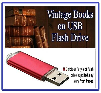 ANTIQUE CYCLING HISTORY BOOKS on USB - JOURNALS MAGAZINES BICYCLE TRICYCLE D1