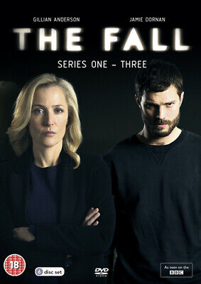 The Fall: Series 1-3 DVD (2016) Gillian Anderson ***NEW***