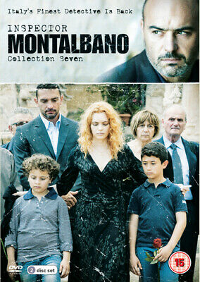 Inspector Montalbano: Collection Seven DVD (2017) Luca Zingaretti ***NEW***