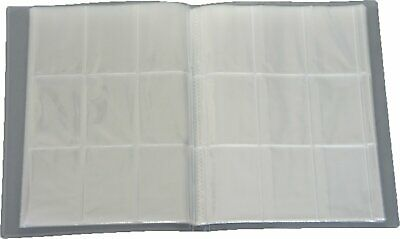 Topps Trading Card Collection Folder / Binder / Album With 9 Pocket Sleeves