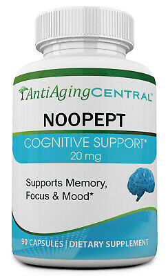 Noopept 20mg, 90 Capsules | Made in USA