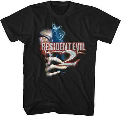 Resident Evil 2 Capcom Zombies Video Games Movie Horror Scary T Shirt RES502