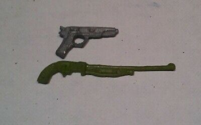 GI Joe ARAH Flint Shotgun Keel Haul Desert Eagle Custom Cast Weapon Part Lot
