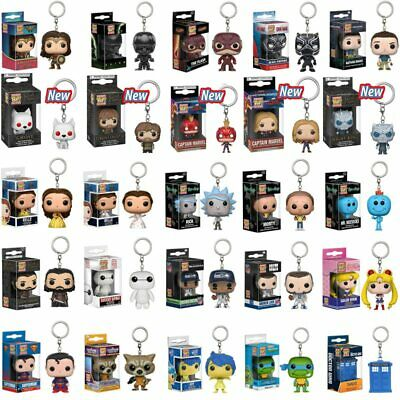 FUNKO POP Marvel Keychain Spider Chivalrous Captain Harry potter Game of Thrones