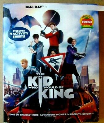 Kid who Would be King, Th : Blu-Ray Movie Disc, Blu-ray Case, Artwork, Slipcover