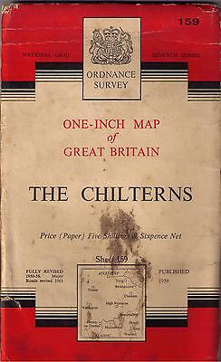 MAP - OS Linen Map of The CHILTERNS – Sheet 159.