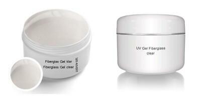 Gel UV monofase in fibra di vetro gel Clear 30 ml