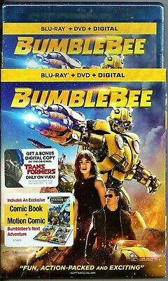 Bumblebee Blu-ray + DVD + Digital Brand New with Slip Cover