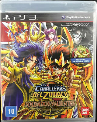 PS3 SAINT SEIYA SOLDIERS SOUL Relive The Legends REGION FREE