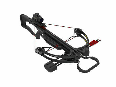 Barnett Recruit Tactical Crossbow Package with Red Dot Sight Black 78134