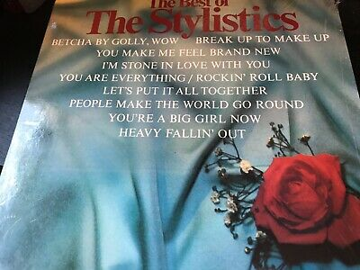 THE STYLISTICS The Best Of The Stylistics LP AMHERST AMH-743 orig shrkwrp NM-