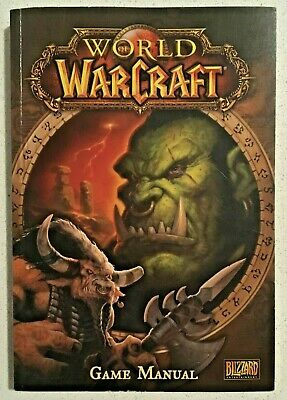 WORLD OF WARCRAFT Game Manual (2004) WOW Players Guide Booklet Blizzard