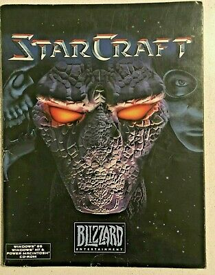 STARCRAFT: BOOKLET for PC GAME (1998) BOOK ONLY Blizzard Entertainment Gaming