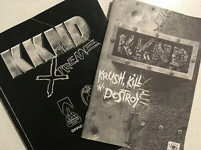 KKND Krush Kill Destroy OFFICIAL PLAYERS GUIDE AND BOOKLET (1996)