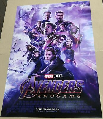 Marvel Avengers ENDGAME 2019 Original 27x40 Double Sided Int'l Movie Poster C