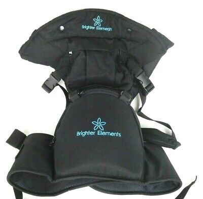 Brighter Elements 5 Position Baby Carrier With Hip Seat And Hoodie