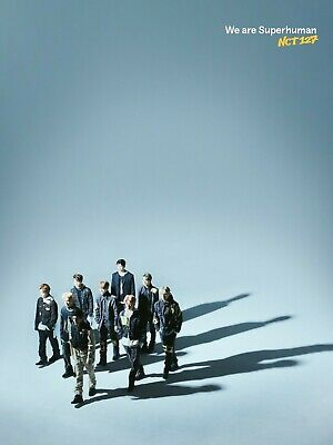 NCT 127 (Free Gift Included)+nct #127 WE ARE SUPERHUMAN CD+POSTCARD+POSTER K