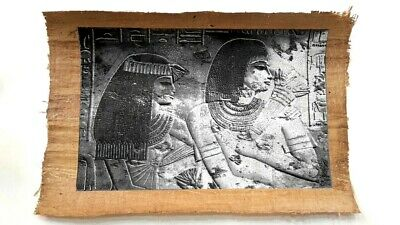 Egyptian Ancient History Old Papyrus Paper Hand Painting (40X60Cm)