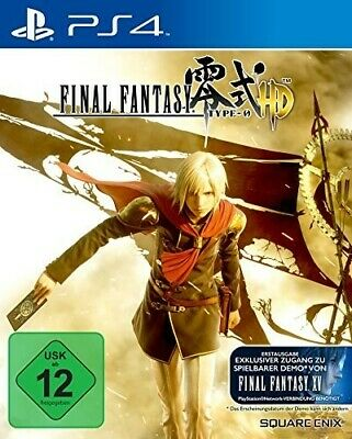 PS4 / Sony Playstation 4 - Final Fantasy: Type-0 HD AL/ING en el embalaje usado