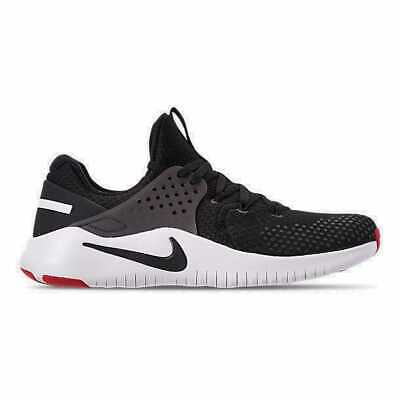 11ceb3a8f0006 Men s Nike Free Trainer V8 Training Shoes Black White Red Blaze AH9395 004